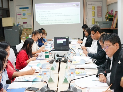 สรจ.ขอนแก่น จัดประชุมคณะกรรมการศูนย์ช่วยเหลือผู้ประสบความเดือดร้อนด้านอาชีพ จังหวัดขอนแก่น ครั้งที่ 1/2563