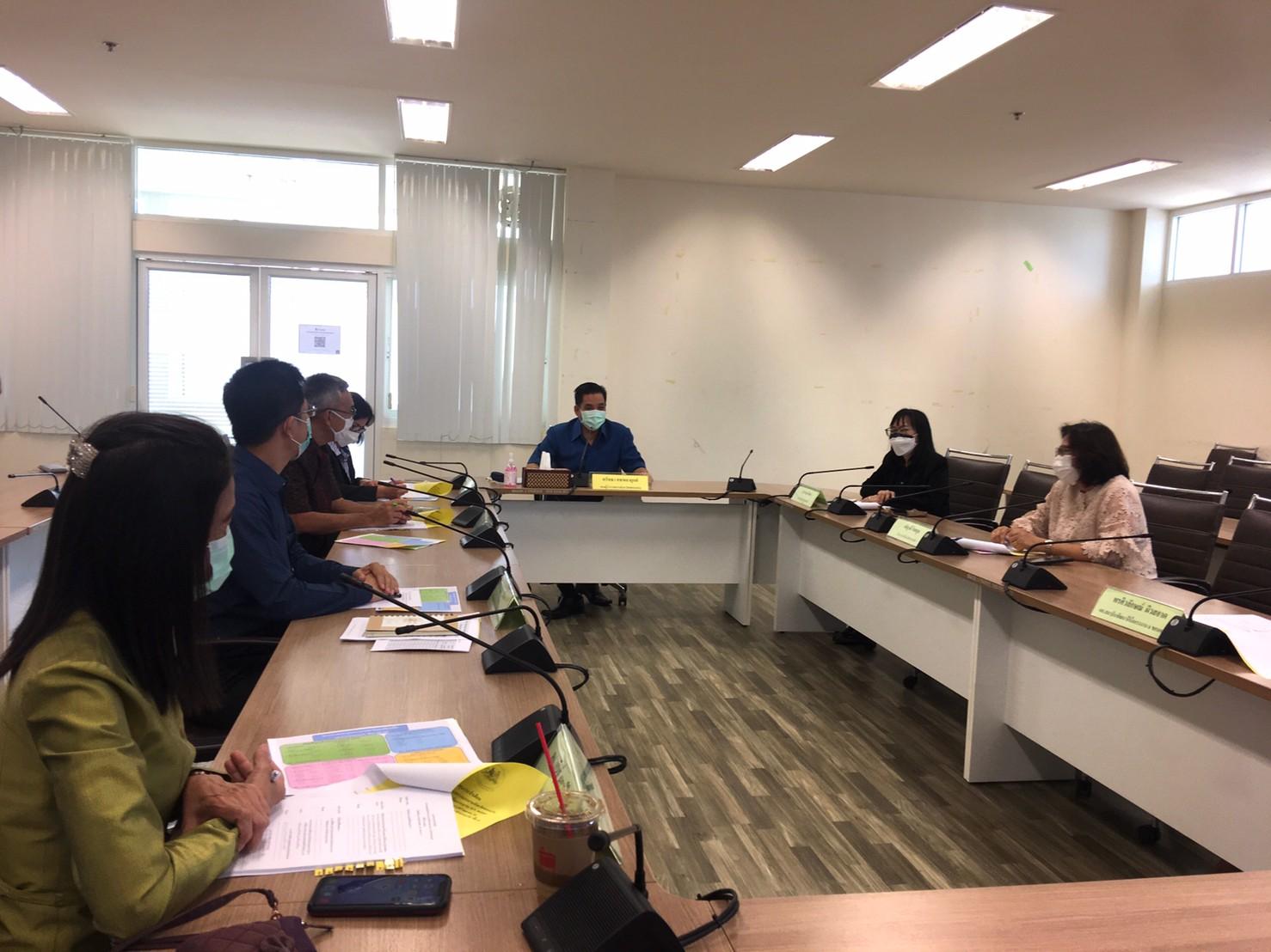 สรจ.ขก ประชุมหัวหน้าส่วนราชการสังกัดกระทรวงแรงงานจังหวัดขอนแก่น ครั้งที่ 10 / 2564